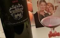 du vin de Castillon, Pascal et Malika en photo